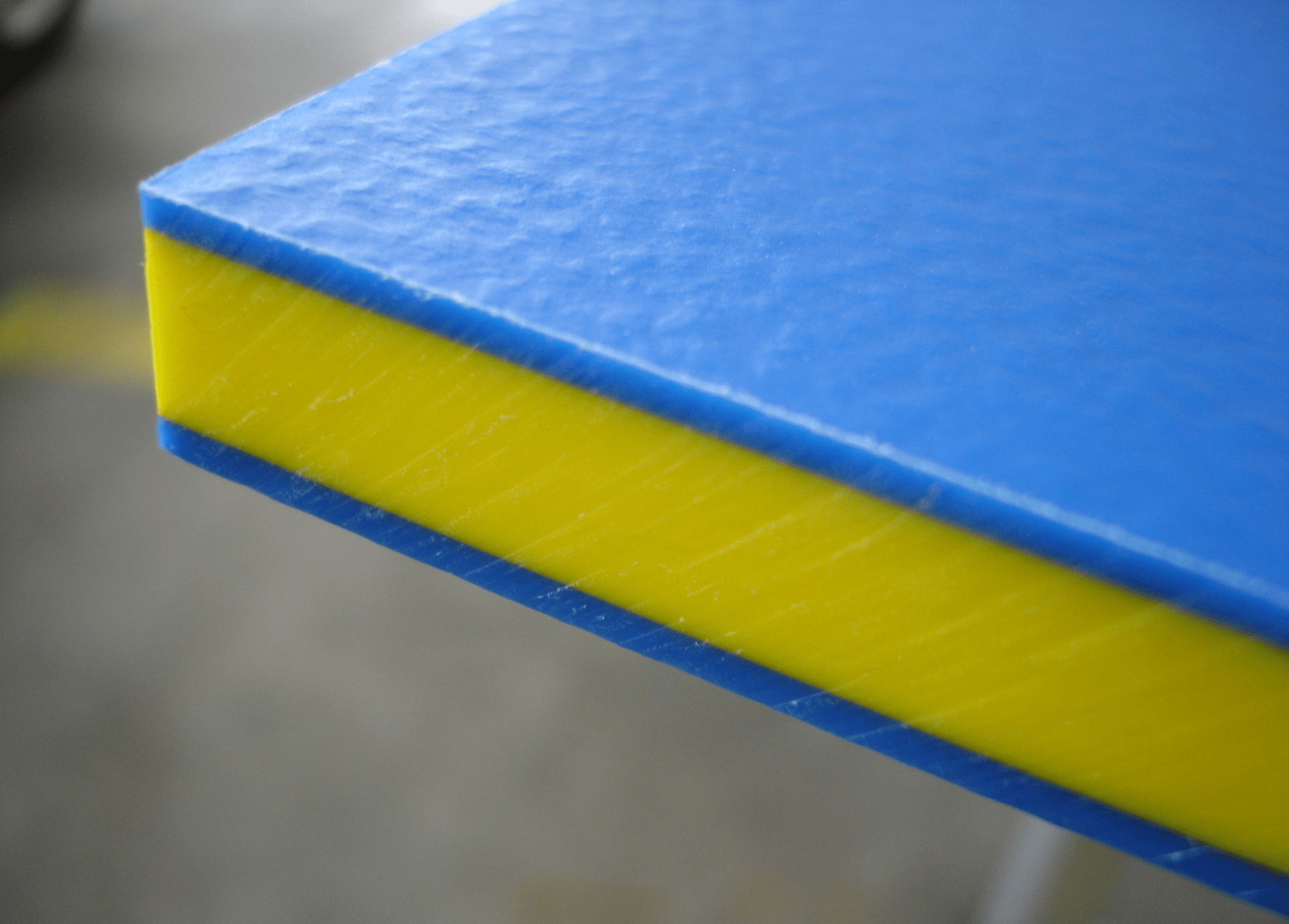 Durable HDPE sheets for signage or engineering parts
